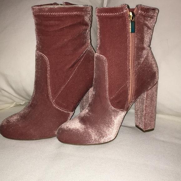 Bamboo women s short High heel boots 98fe85d93c10
